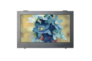 1500nits Outdoor Weatherproof TV/Monitor with Tempered Glass for Protection pictures & photos