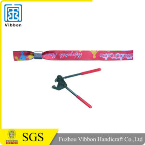Cheap Woven Wristband for Exhibition pictures & photos