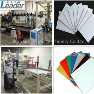 Automatic PVC Celuka Foam/Co-Extrusion Foam Sheet Extrusion Line pictures & photos