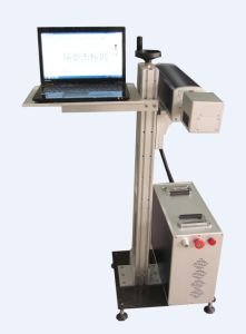 10W/20W/30W/50W Fiber Laser Marking Machine for Metal with Rotary Device pictures & photos