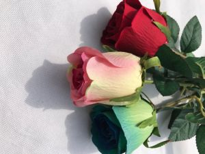 Artificial Silk Wedding Bouquet Flowers, Home Decorations for Wedding Party or Birthday pictures & photos