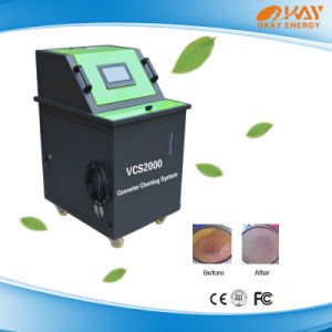 Three-Way Visiable Catalytic Converter Carbon Cleaning Machine pictures & photos