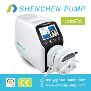 Portable Pump Peristaltic for Detergent, Adjustable Flow Rate Feed Pump for Honey, High-Precision Hose Pump for Transmittal pictures & photos