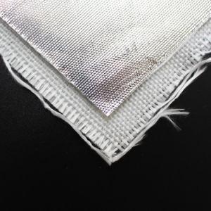 High Temperature Heat Reflecting Aluminum Film Coated Fiberglass Fabric pictures & photos