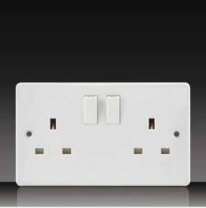 13A 2 Gang Switch Socket (CK213) pictures & photos