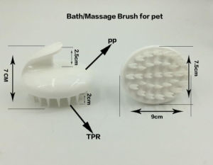 High Quality Pet Bath Massage Brush, Dog cleaning Brush pictures & photos