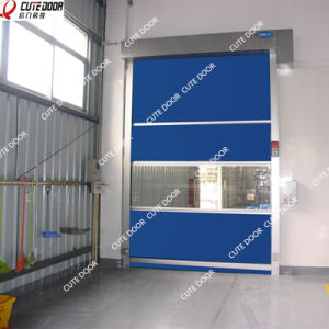 PVC Fabric High Speed Roll up Traffic Doors for Clean Room pictures & photos