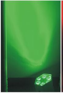 6PCS*18W Rgbwauv Flat PAR Light / Battery Operated Ball Light Battery Operated LED Light pictures & photos