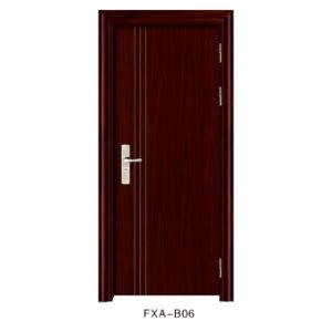 2017 New Design Cheap Price Amercian Steel Door (FXA-R06) pictures & photos