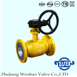 Standard Flanged Fully Welded Ball Valve for Nature Gas pictures & photos