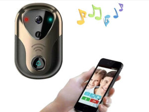 Wdm 1.0MP WiFi Doorbell IP Camera for Home Security pictures & photos