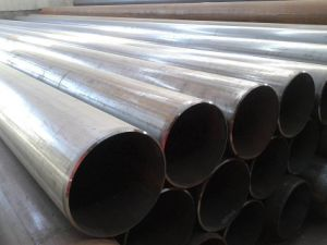 Factroy Price Straight Seam Welded Pipe Q195 pictures & photos