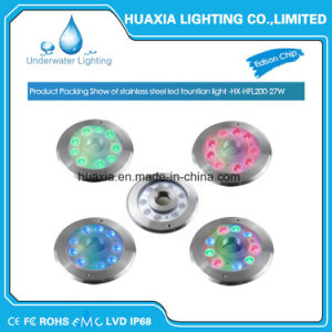 304/316 Stainless Steel IP68 LED Fountain Waterproof Light pictures & photos