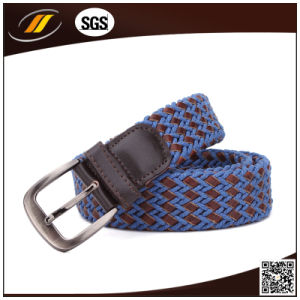 High Quality Leather and Cotton String Braided Man Belt pictures & photos