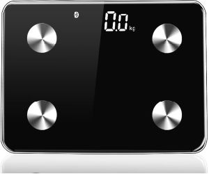 Glass Large LCD Digital Display Bluetooth Electronic Bathroom Scale pictures & photos