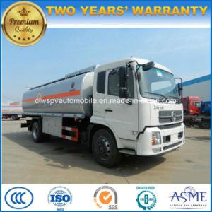 10 Tons to 12 Tons Fuel Tank 13cbm 15cbm Fuel Tanker Truck for Sale pictures & photos