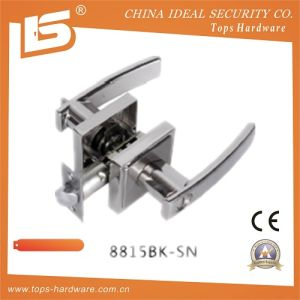 Heavy Duty Zinc Zlloy Door Handle Lock (8815BK SN) pictures & photos
