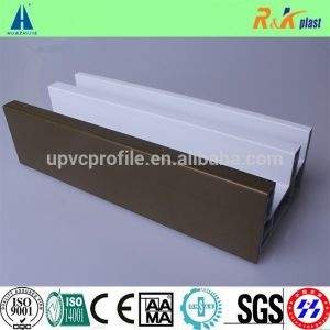 China Manufacture Plastic PVC Profiles for Windows and Doors pictures & photos