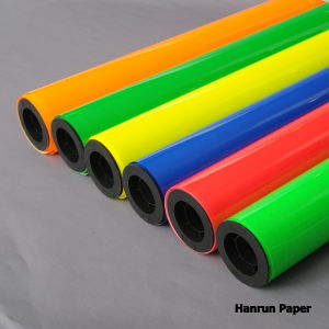 Heat Transfer Film / PU Based Vinyl Width 50 Cm Length 25 M for All Fabric