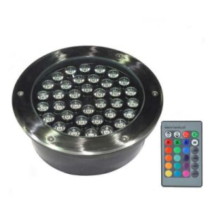 30cm Diameter Waterproof IP67 Round LED Underground Light 36W RGB White Color pictures & photos