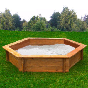 Outdoor Wooden Sandpit for Children (03) pictures & photos