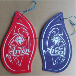 Promotional Custom Hanging Car Paper Parfum Air Freshener pictures & photos