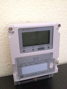 Single Phase Smart Energy Meter for AMR/Ami System pictures & photos