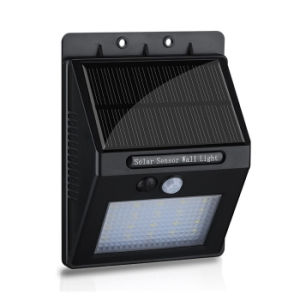 20 LED IP65 Waterproof Wireless Human Motion Sensor Garden Light Outdoor Solar PIR Sensor Wall Light pictures & photos