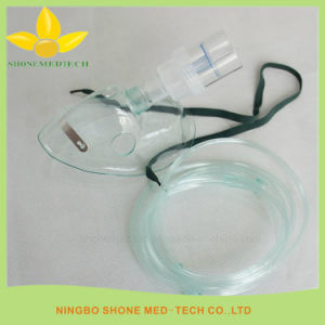 Nebulizer Mask with Chamber and Tubing, Oxygen Mask with Tube pictures & photos