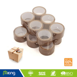 6 Rolls Brown BOPP Adhesive Packing Tape for Box Sealing pictures & photos