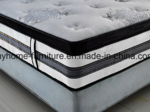 Hot Selling 40 Density Memory Foam Bed Mattress with Spring Box pictures & photos
