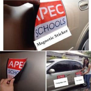 Customized Magnetic Car Signs Car Door Magnets pictures & photos