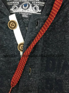 Wholesale Navy Fleece Hoody for Men with Letter Embroidery pictures & photos