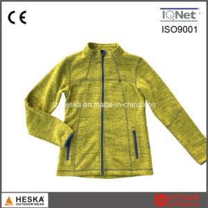 Winter Bodkin Fleece Knitted Light Fleece Jacket pictures & photos