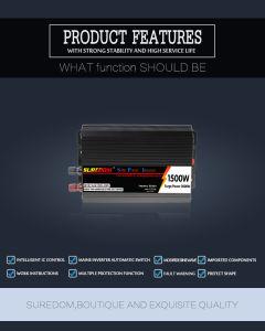 Thin and Light 1500W DC24V to AC220V 50Hz-60Hz Solar Inverter pictures & photos