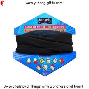 2015 Polar Fleece Buff Scarf with Packing Card (YH-HS114) pictures & photos
