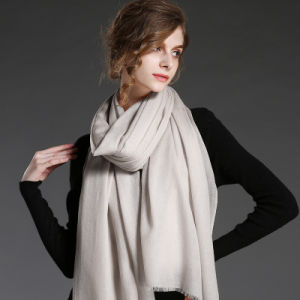 Soild Color Wool Scarf for Women in Winter pictures & photos