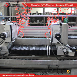 Glass Straight-Line Circular R Angle Double Edger Machine pictures & photos