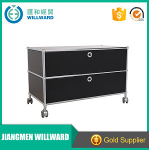 Factory Production Modern 3 Drawer File Cabinet Storage Filing Cabinet pictures & photos