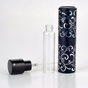 15ml Perfume Refill Travel Atomizer with Embossed Rotation pictures & photos