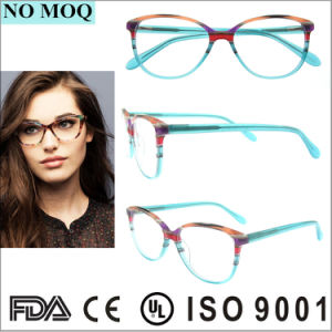 Latest New Design Acetate Eyewear Eyeglass Optical Frame pictures & photos