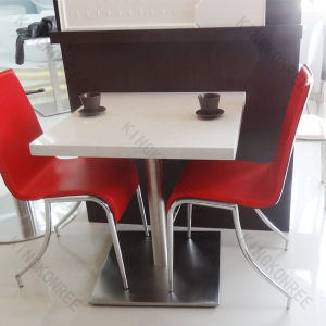 Modern Restaurant Furniture Artificial Quartz Stone Table pictures & photos
