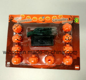 Hallween Pumpkin LED String Lights (PM147) pictures & photos