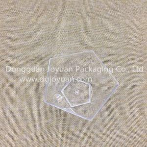 PP Disposable Plastic Pentagram/ Pentacle Style Dessert Cake Cup pictures & photos