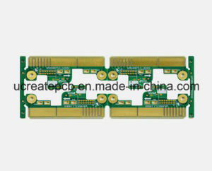 Double Gold Finger PCB Board for Security Electronics pictures & photos
