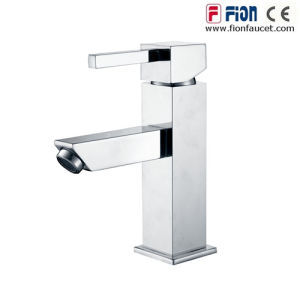 Square Fashion Single Lever Bath and Shower Mixer (F-19001) pictures & photos