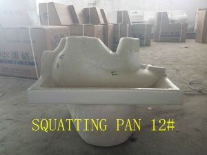 Public/Hotel Bathroom Washbasin with Pedestal and Cheap Price pictures & photos