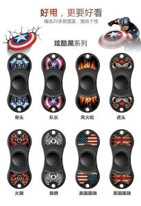 Captain America Shield Hand Spinner Fidget Spinner pictures & photos