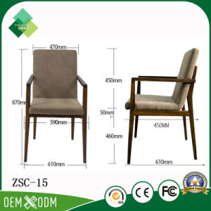 Hot Sell 5 Star Hotel Furniture Armchair for Restaurant (ZSC-15) pictures & photos