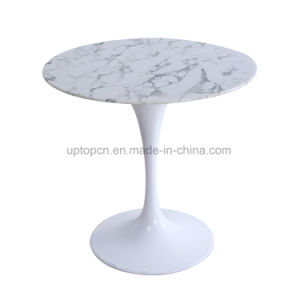 Commercial Round White Tulip Restaurant Table (SP-GT354) pictures & photos